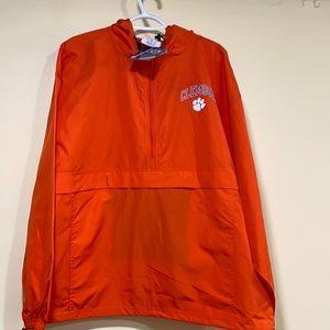 Clemson University, Zippered Pocket, Men's XL Only,